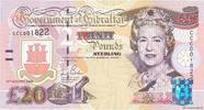 20 Pounds Sterling 2004 GIBRALTAR GIBRALTAR 20 Pounds Sterling 2004 NEU... 130,00 EUR  zzgl. 10,00 EUR Versand