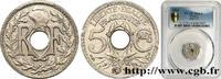 5 centimes Lindauer, petit module 1934  III REPUBLIC 1934 (17mm, 2g, 6h... 100,00 EUR  + 10,00 EUR frais d'envoi