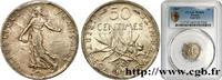 50 centimes Semeuse 1907  III REPUBLIC 1907 (18mm, 2,5g, 6h ) fST  190,00 EUR  + 10,00 EUR frais d'envoi