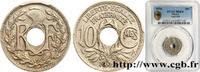 10 centimes Lindauer 1924  III REPUBLIC 1924 (21mm, 4g, 6h ) fST  110,00 EUR  Excl. 10,00 EUR Verzending