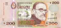 200 Pesos Uruguayos 2011 URUGUAY URUGUAY 200 Pesos Uruguayos 2011 NEUF ST  20,00 EUR  + 10,00 EUR frais d'envoi