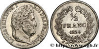 1/2 franc Louis-Philippe 1836  LOUIS-PHILIPPE I 1836 (18mm, 2,47g, 6h )... 239.85 US$ 220,00 EUR  +  10.90 US$ shipping