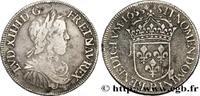 Demi-écu à la mèche longue 1653  LOUIS XIV 'THE SUN KING' 1653 (32mm, 1... 149.64 US$ 140,00 EUR  +  10.69 US$ shipping