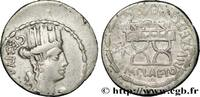 THE REPUBLIC (280 BC to 27 BC) Denier 67 AC. ss PLAETORIA 67 AC. (19mm, ... 125,00 EUR