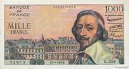 1000 Francs RICHELIEU 1957 FRANCE FRANCE 1000 Francs RICHELIEU 1957 SUP... 825,00 EUR  +  10,00 EUR shipping