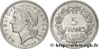 5 francs Lavrillier, nickel 1937  III REPUBLIC 1937 (31mm, 12g, 6h ) SS  145,00 EUR  +  10,00 EUR shipping
