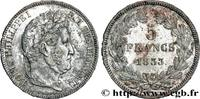 5 francs IIe type Domard 1833  LOUIS-PHILIPPE I 1833 (37mm, 24,72g, 6h ... 180,00 EUR  +  10,00 EUR shipping
