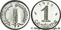 1 centime Épi 1985  V REPUBLIC 1985 (15mm, 1,65g, 6h ) fST  110,00 EUR  +  10,00 EUR shipping
