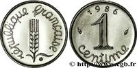 1 centime Épi 1986  V REPUBLIC 1986 (15mm, 1,65g, 6h ) fST  120,00 EUR  +  10,00 EUR shipping