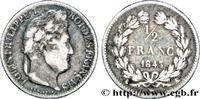 1/2 franc Louis-Philippe 1843  LOUIS-PHILIPPE I 1843 (18mm, 2,50g, 6h ) S  120,00 EUR  +  10,00 EUR shipping