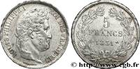 5 francs Ier type Domard, tranche en relief 1831  LOUIS-PHILIPPE I 1831... 195,00 EUR  +  10,00 EUR shipping
