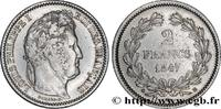 2 francs Louis-Philippe 1847  LOUIS-PHILIPPE I 1847 (27mm, 10g, 6h ) S  280,00 EUR