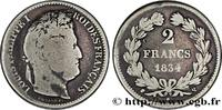 2 francs Louis-Philippe 1834  LOUIS-PHILIPPE I 1834 (27mm, 10g, 6h ) S  250,00 EUR  +  10,00 EUR shipping