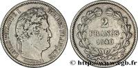 2 francs Louis-Philippe 1840  LOUIS-PHILIPPE I 1840 (27mm, 10g, 6h ) S  220,00 EUR  +  10,00 EUR shipping