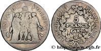 5 francs Union et Force, Union desserré, avec glan 1801  CONSULAT 1801 ... 180,00 EUR  +  10,00 EUR shipping
