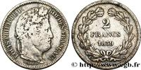 2 francs Louis-Philippe 1839  LOUIS-PHILIPPE I 1839 (27mm, 10g, 6h ) S  295,00 EUR  +  10,00 EUR shipping