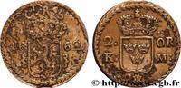 2 Ore écu couronné frappe au nom du roi Charles IX 1662  SWEDEN 1662 (4... 275,00 EUR  +  10,00 EUR shipping