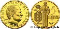 Essai de 5 Centimes Rainier III 1976  MONACO 1976 (17mm, g, 6h ) ST  90,00 EUR  +  10,00 EUR shipping