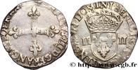 Quart d'écu, croix de face n.d.  HENRY III n.d. (29mm, 9,57g, 7h ) fSS  75,00 EUR  +  10,00 EUR shipping