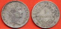1809 A 5 FRANCS NAPOLEON 1er 5 FRANCS NAPOLEON 1er TETE LAUREE AU REVE... 150,00 EUR  zzgl. 10,00 EUR Versand