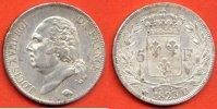 1823 D 5 FRANCS LOUIS XVIII 5 FRANCS LOUIS XVIII BUSTE NU ANNEE 1823 D... 300,00 EUR  zzgl. 15,00 EUR Versand
