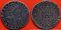 FRANCOIS 1er  FRANCOIS 1er 1515-1547 TESTON EN ARGENT 25e TYPE A/ FRANCISCVS D GRA FRANCOR REX BUSTE A DROITE DU ROI, BARBU, PORTANT UNE COURO