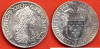 LOUIS XIII  LOUIS XIII 1610-1643 1/4 D ECU 2e POINCON DE WARIN COURS LEGAL 15 SOLS TOURNOIS 1643 A ROSE ATELIER PARIS POIDS 6.9g  / NUMERO C