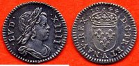 1644 A LOUIS XIV LOUIS XIV 1643-1715 1/48 ECU A LA MECHE COURTE 1644 A... 1050,00 EUR  zzgl. 20,00 EUR Versand