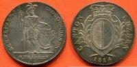 SUISSE SUISSE CANTON DE LUZERN 4 FRANKEN EN ARGENT 1814 POIDS 29.39g ... 480,00 EUR  zzgl. 15,00 EUR Versand