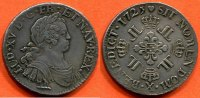 LOUIS XV  1725 X vz LOUIS XV 1715-1774 ECU...