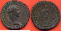 98-117  n. Chr. TRAJAN TRAJAN 98-117 SESTERCE A/ IMP CAES NERVAE TRAIA... 2100,00 EUR  zzgl. 20,00 EUR Versand