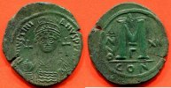 ANTIQUE  527-565  n. Chr. vz JUSTINIEN I 527-565 NEVEU DE JUSTIN I FOLLI... 380,00 EUR