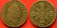 1641 A LOUIS XIII LOUIS XIII 1610-1643 DEMI LOUIS D'OR A LA MECHE LONG... 1150,00 EUR  zzgl. 20,00 EUR Versand