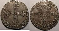 1610-1643 LOUIS XIII (1610-1643) Monnaie royale, Louis XIII, 1/4 d'Ecu... 160,00 EUR  Excl. 7,00 EUR Verzending