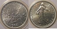 1984 5 Francs Monnaie française, Semeuse, 5 Francs 1984   65,00 EUR  Excl. 7,00 EUR Verzending