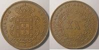 1874 Portugal  Monnaie étrangère, Portugal, 20 Reis 1874   75,00 EUR