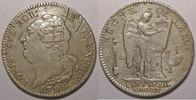 1793 A Ecu de 6 Livres Constitution (François) Monnaie de la révolutio... 250,00 EUR  Excl. 7,00 EUR Verzending