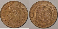 1855 MA 1 Centime Monnaie française, Napoléon III, 1 centime 1855 MA M... 90,00 EUR  zzgl. 7,00 EUR Versand