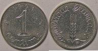 1991 1 Centime Monnaie française, Epi, 1 Centime 1991 Frappe monnaie, ... 850,00 EUR kostenloser Versand