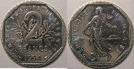 1994 2 Francs Monnaie française, Semeuse, 2 Francs 1994 Abeille   55,00 EUR  Excl. 7,00 EUR Verzending
