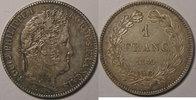1845 B 1 Franc Monnaie Française, Louis-Philippe I, 1 Franc 1845 B Rou... 180,00 EUR  zzgl. 7,00 EUR Versand