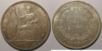 1909 Indochine Monnaie étrangère, Indochine, Indochina, 1 Piastre 1909... 70,00 EUR  Excl. 7,00 EUR Verzending