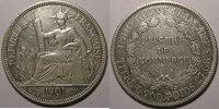 1901 Indochine Monnaie étrangère, Indochine, Indochina, 1 Piastre 1901... 68,00 EUR  Excl. 7,00 EUR Verzending