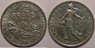 1989 1/2 Franc France, Semeuse, 1/2 Franc 1989 SUP+, KM# 931.1 vz+  9,00 EUR