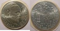1985 100 Francs France, Emile Zola, 100 Francs 1985 FDC, Gad: 900 st  20,00 EUR