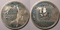 1990 Monnaies commémoratives France, Patinage de vitesse, 100 Francs 1... 20,00 EUR