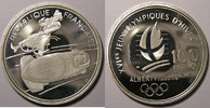 1990 Monnaies commémoratives France, Bobsleigh, 100 Francs 1990 SPL, K... 20,00 EUR