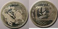 1991 Monnaies commémoratives France, Hockey sur glace, 100 Francs 1991... 20,00 EUR