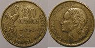 1954 B 20 Francs Monnaie Française, Guiraud, 20 Francs, 1954 B TTB, Ga... 900,00 EUR kostenloser Versand