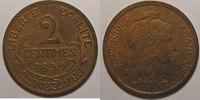 1899 2 Centimes France, Dupuis, 2 Centimes 1899 TTB+ cleaned, Gad: 107... 10,00 EUR  zzgl. 7,00 EUR Versand